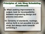 principles of job shop scheduling continued1