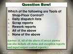 question bowl7