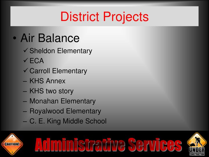 District Projects