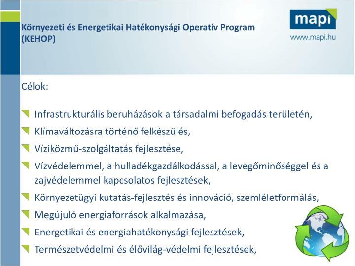 Környezeti és Energetikai Hatékonysági Operatív