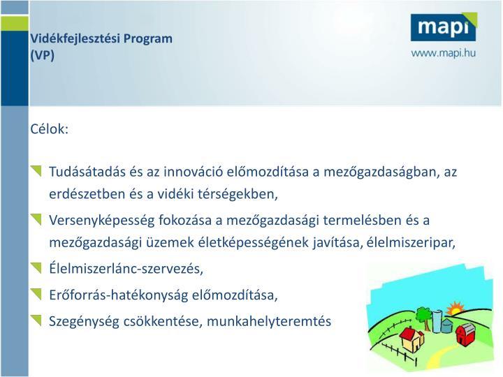 Vidékfejlesztési Program