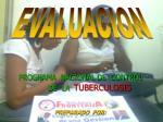 programa nacional de control de la tuberculosis preparado por