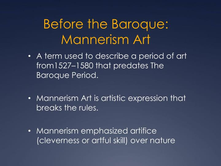 Ppt hum 102 powerpoint presentation id 6146738 for Origin of the word baroque