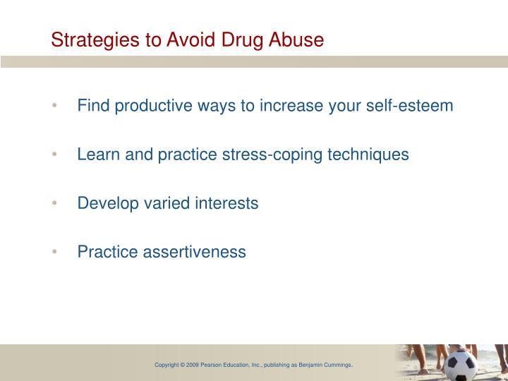 Strategies to Avoid Drug Abuse