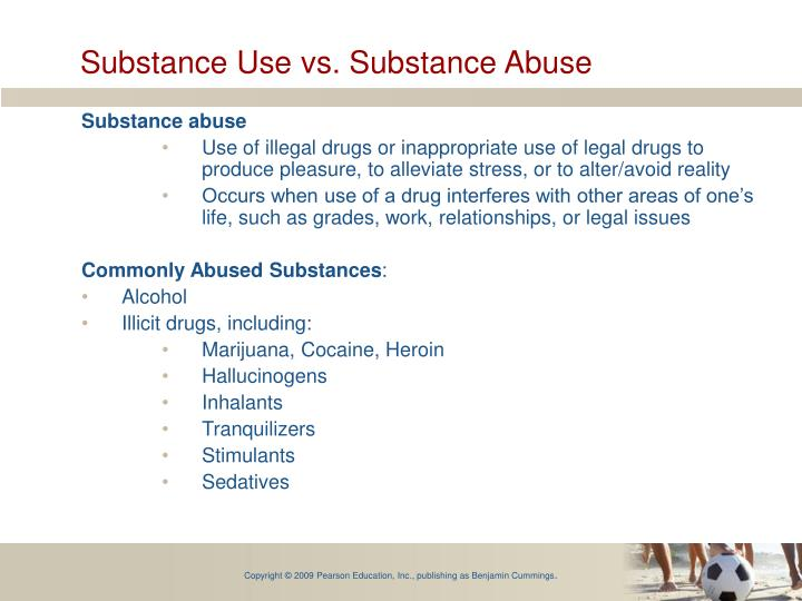 Substance Use vs. Substance Abuse