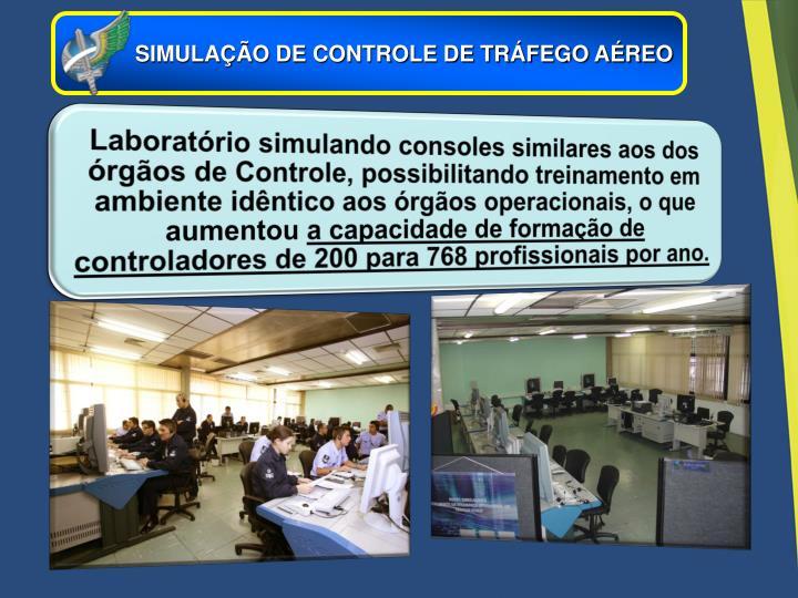 SIMULAÇÃO DE CONTROLE DE TRÁFEGO AÉREO