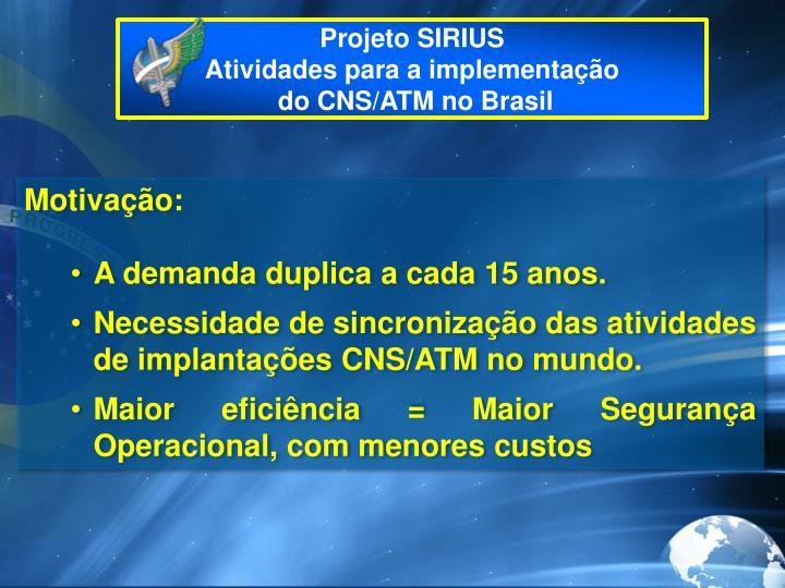Projeto SIRIUS