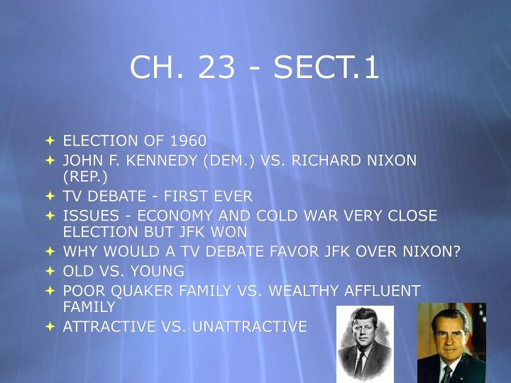 Ch 23 sect 1