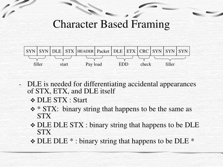 Character Based Framing