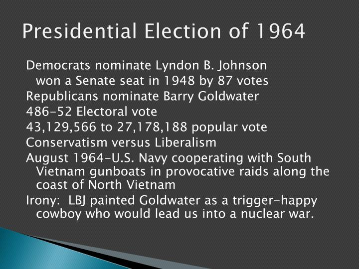 Presidential Election of 1964