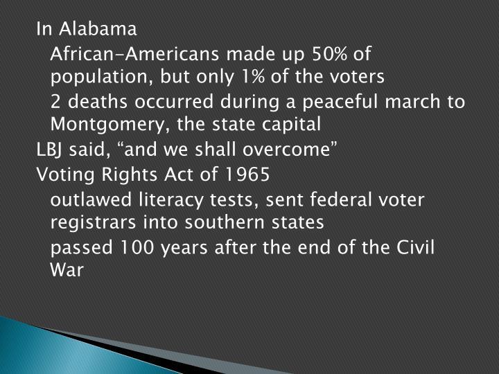 In Alabama