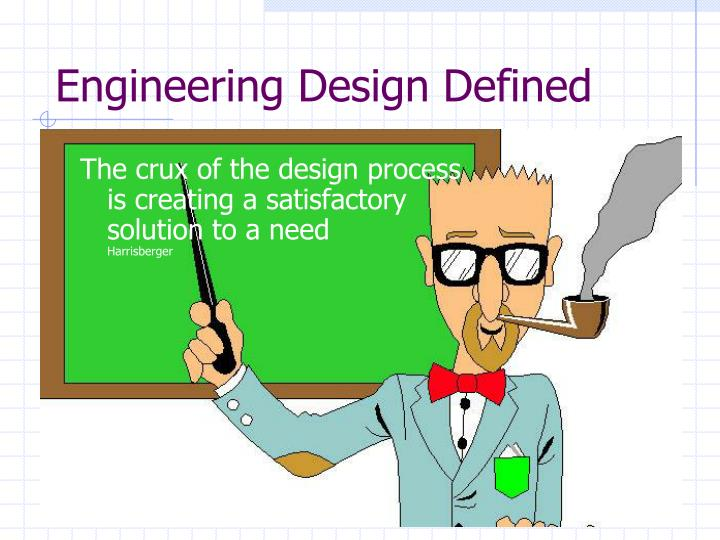 Engineering Design Defined