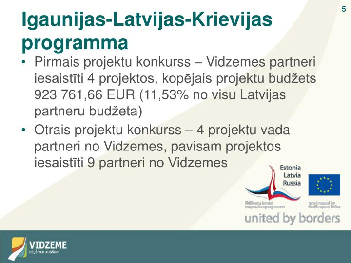 Igaunijas-Latvijas-Krievijas programma