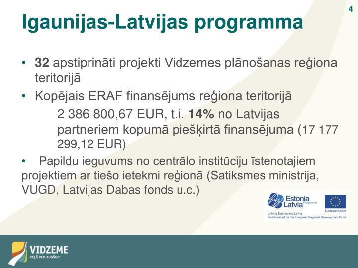 Igaunijas-Latvijas programma