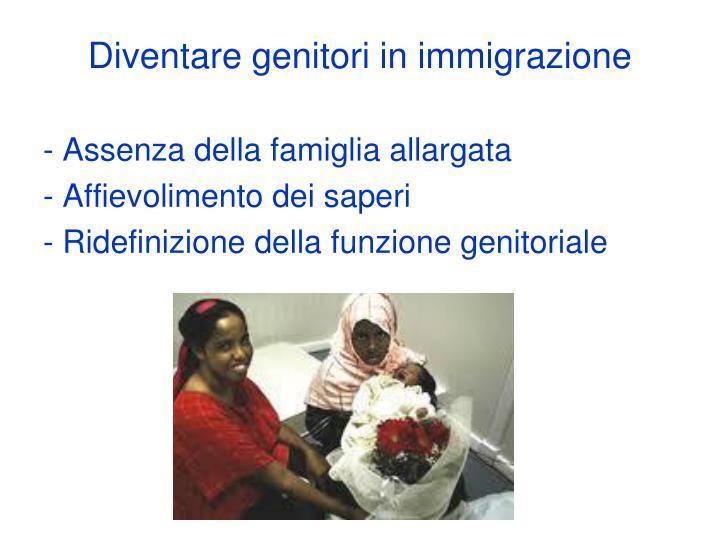 Diventare genitori in immigrazione