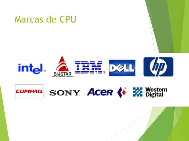 Marcas de CPU