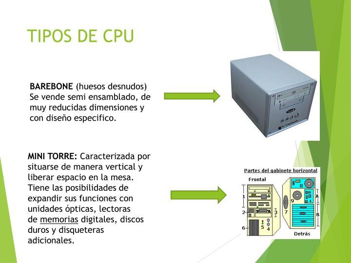 TIPOS DE CPU
