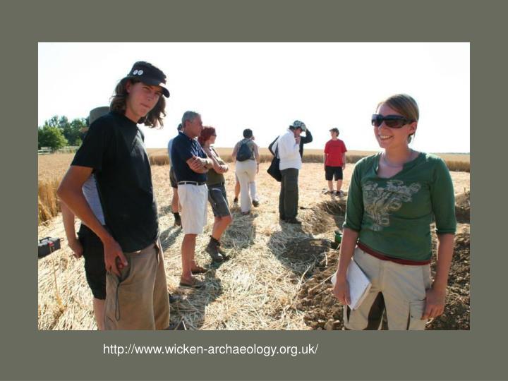 http://www.wicken-archaeology.org.uk/