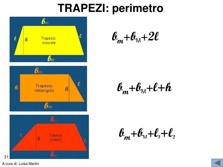 TRAPEZI: perimetro