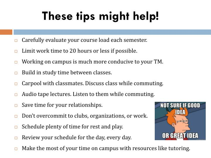 These tips might help!