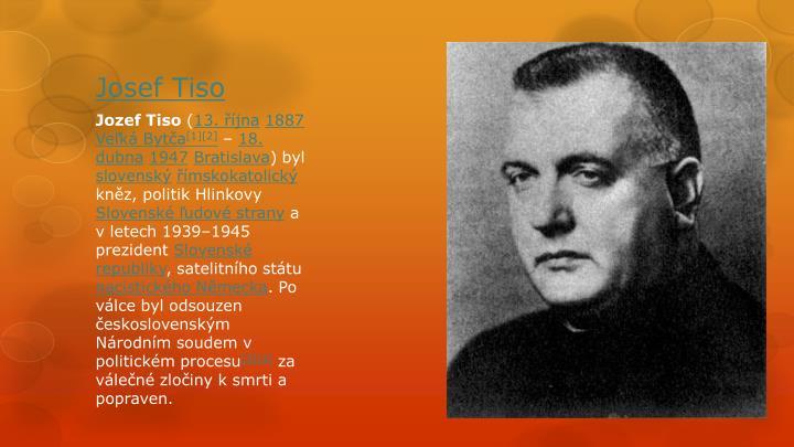 Josef Tiso