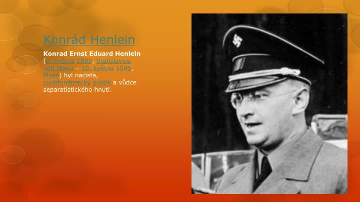 Konrád Henlein