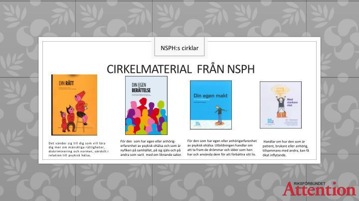 NSPH:s cirklar
