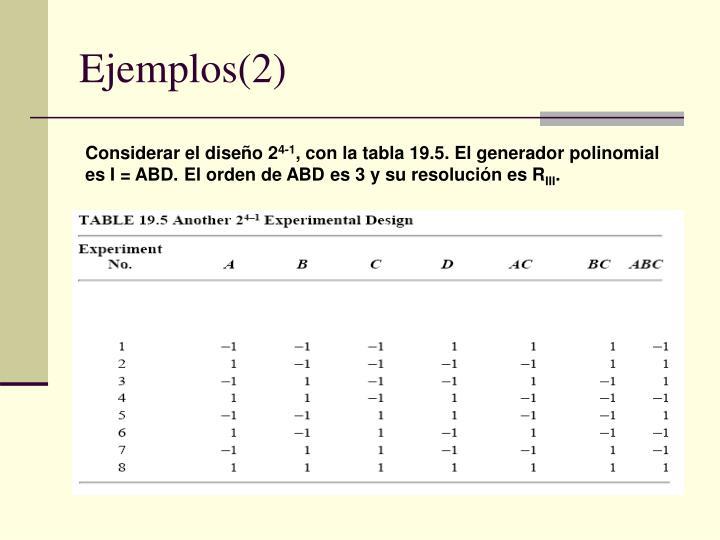 Ejemplos(2)