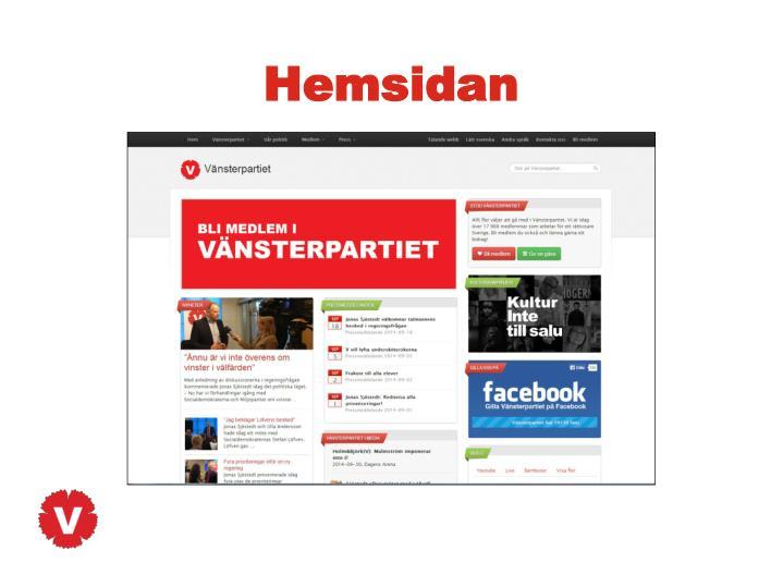 Hemsidan
