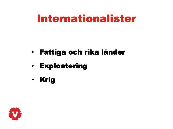 Internationalister