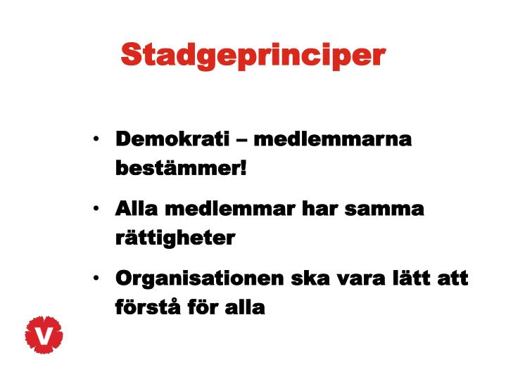 Stadgeprinciper