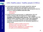 ch6 healthy place healthy people 5 recs