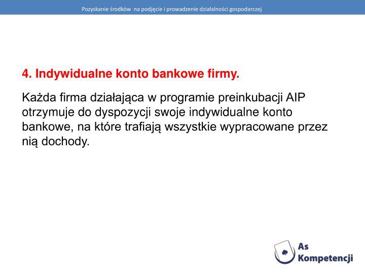 Pozyskanie środków  na podjęcie i prowadzenie działalności gospodarczej