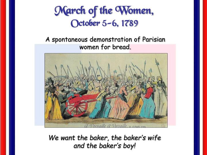 March of the Women,