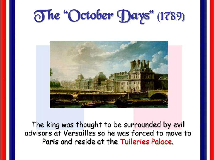 "The ""October Days"""