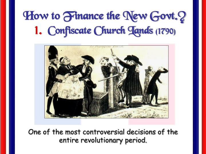 How to Finance the New Govt.?