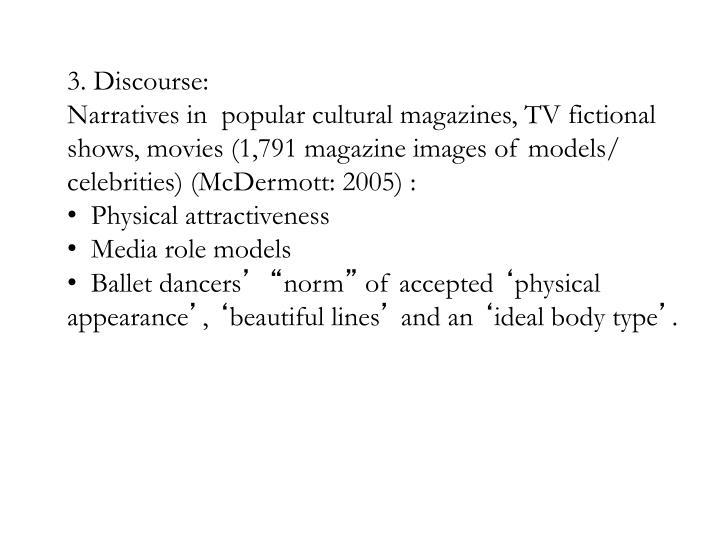 3. Discourse: