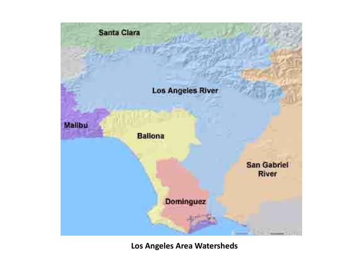 Los Angeles Area Watersheds