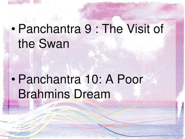 Panchantra 9 : The Visit of the