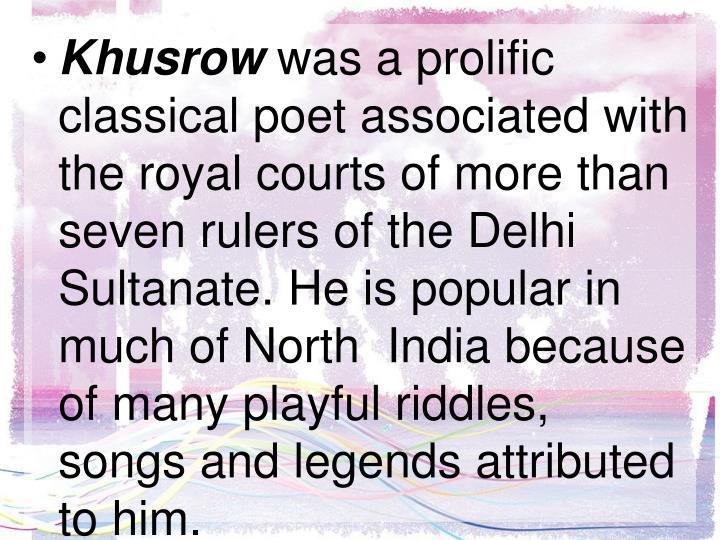 Khusrow