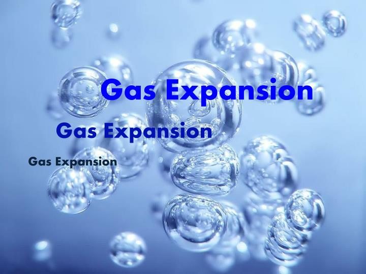 Gas Expansion