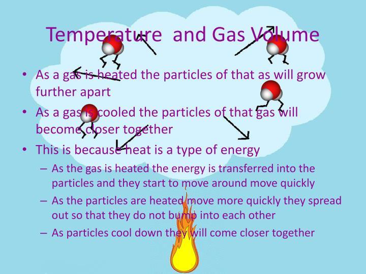 Temperature  and Gas Volume