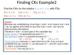 finding cks example2