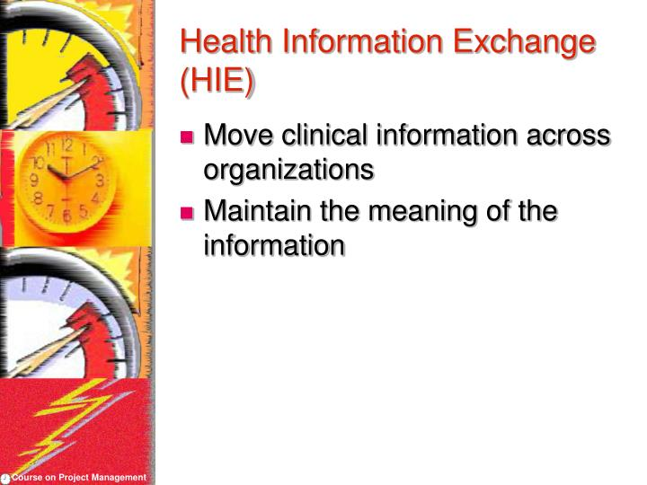 Health Information Exchange (HIE)