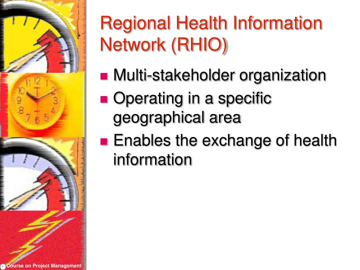 Regional Health Information Network (RHIO)