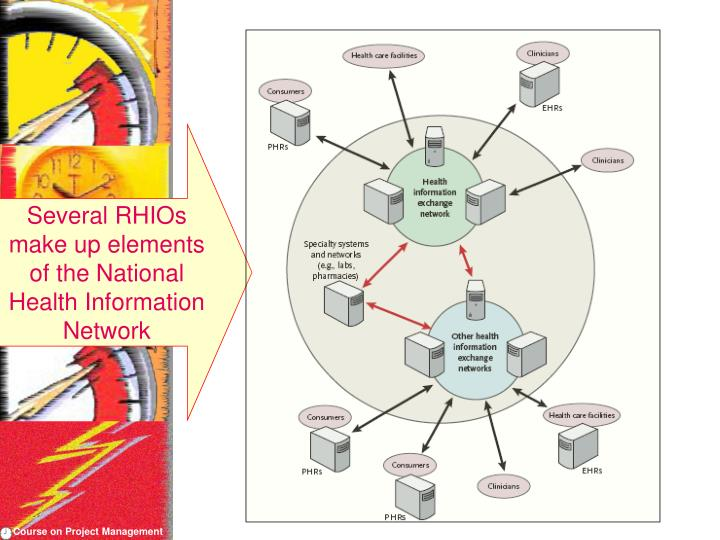 Several RHIOs make up elements of the National Health Information Network