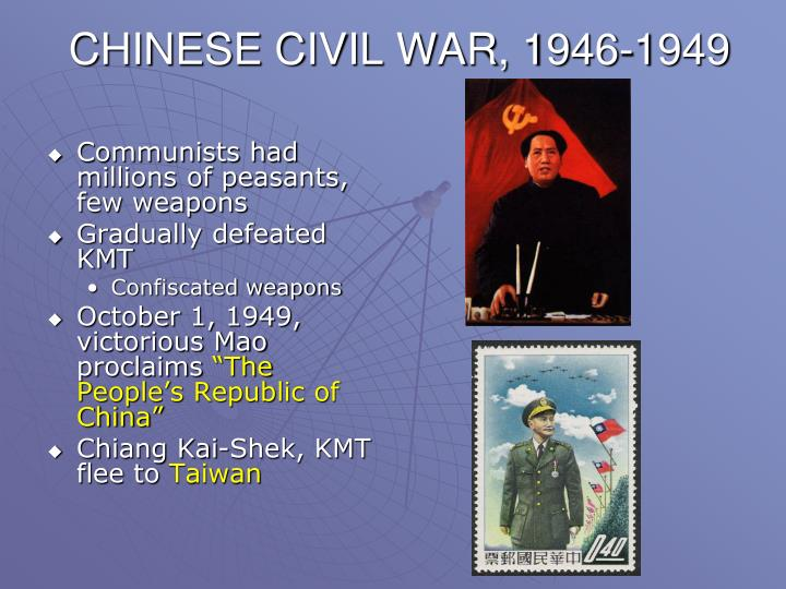 CHINESE CIVIL WAR, 1946-1949