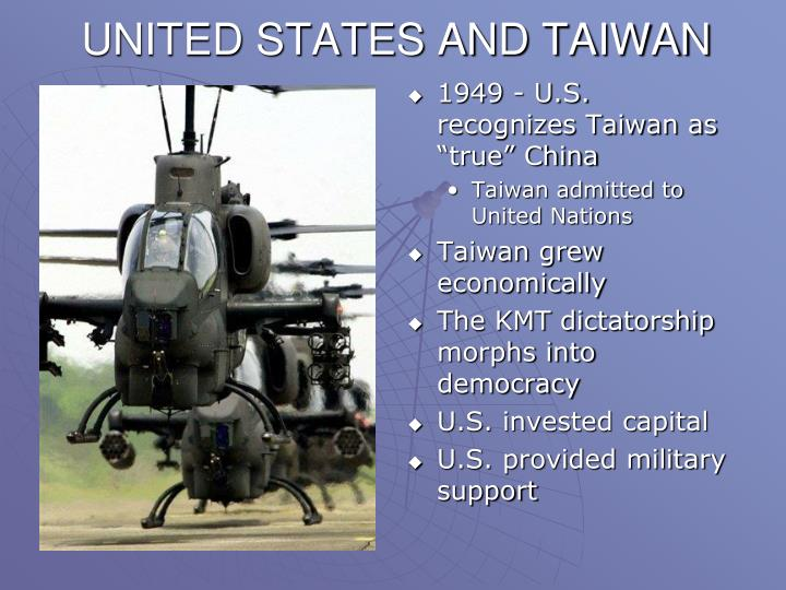 UNITED STATES AND TAIWAN