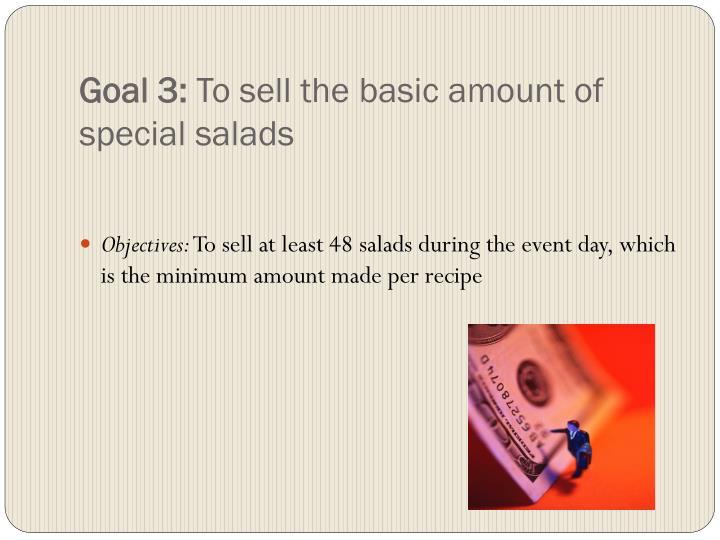 Goal 3: