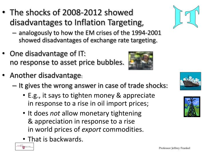 The shocks of 2008-2012 showed
